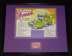 Dan Castellaneta Signed Framed 16x20 Photo Display Simpsons The Homer Car