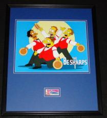 Dan Castellaneta Signed Framed 16x20 Photo Display The Simpsons Homer Be Sharps