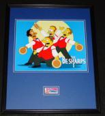 Dan Castellaneta Signed Framed 16x20 Photo Display JSA Simpsons Homer Be Sharps