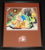 Dan Castellaneta Signed Framed 16x20 Photo Display JSA Simpsons Homer as Jabba
