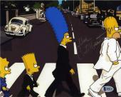 Dan Castellaneta Simpsons Beatles Autographed Signed 8x10 Photo BAS COA AFTAL
