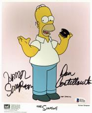 Dan Castellaneta The Simpsons Homer Simpson Signed 8x10 Promo Photo BAS #D67050