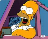Dan Castellaneta The Simpsons Homer Simpson Signed Auto 8x10 PSA/DNA COA #2