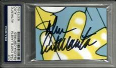 Dan Castellaneta The Simpsons Homer Simpson Signed Auto CUT PSA/DNA Slabbed