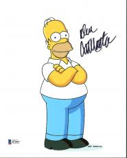 Dan Castellaneta The Simpsons Signed 8X10 Photo BAS #B71867
