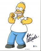 Dan Castellaneta The Simpsons Signed 8X10 Photo BAS #B71868