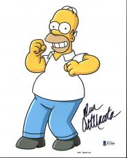 Dan Castellaneta The Simpsons Signed 8X10 Photo BAS #B71868