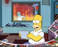 Dan Castellaneta The Simpsons Signed 8X10 Photo BAS #B84366
