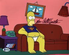 Dan Castellaneta The Simpsons Signed 8X10 Photo BAS #B91008