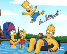 Dan Castellaneta The Simpsons Signed 8X10 Photo BAS #B91010