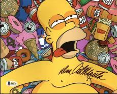 Dan Castellaneta The Simpsons Signed 8X10 Photo BAS #B91120