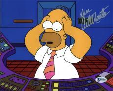 Dan Castellaneta The Simpsons Signed 8X10 Photo BAS #B91121