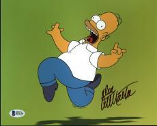 Dan Castellaneta The Simpsons Signed 8X10 Photo BAS #B91134