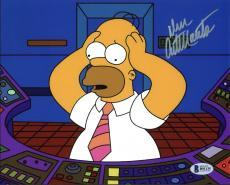 Dan Castellaneta The Simpsons Signed 8X10 Photo BAS #B91135