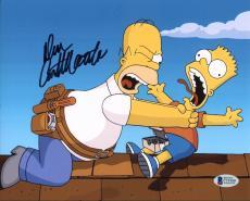 Dan Castellaneta The Simpsons Signed 8X10 Photo BAS #C19180