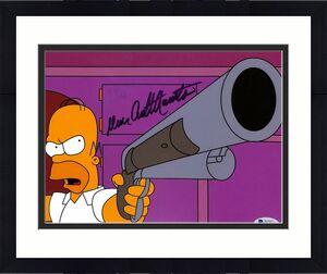 Dan Castellaneta The Simpsons Signed 8x10 Photo BAS #H62261