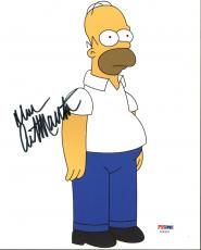 Dan Castellaneta The Simpsons Signed 8X10 Photo PSA/DNA #AA83623