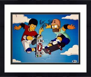 DAN CASTELLANETA Voice of Homer SIMPSONS Signed 11x14 Photo BAS Beckett COA Auto