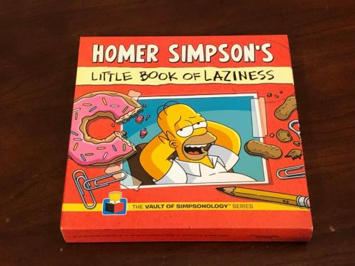 Dan Castellaneta Voice of Homer The Simpsons Rare Signed Autograph Book