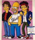 DAN CASTELLANETA Voice of Homer THE SIMPSONS Signed 11x14 Photo BAS Beckett COA