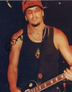 Dan Donegan Heavy Metal Guitarist Signed Autographed 8x10 W/ Coa