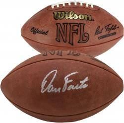 Autographed Dan Fouts Ball - Mounted Memories