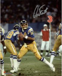 Dan Fouts San Diego Chargers Autographed 8'' x 10'' Dropping Back Photograph