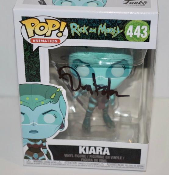 Dan Harmon Signed Autographed Rick and Morty KIARA 443 Funko Pop Figure COA