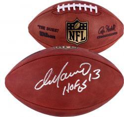Miami Dolphins Dan Marino Autographed Hall of Fame 2005 Football