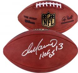 Miami Dolphins Dan Marino Autographed Hall of Fame 2005 Football