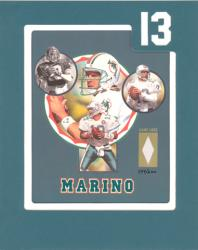 Dan Marino Framed Photo Collage with Game Used Jersey