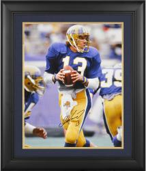 "Dan Marino Framed Autographed University of Pittsburgh 16"" x 20"" Photo"