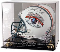 Miami Dolphins Dan Marino Hall of Fame Helmet Case - Mounted Memories