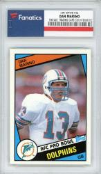Dan Marino Miami Dolphins 1984 Topps Rookie #123 Card