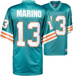 Dan Marino Miami Dolphins Autographed Teal Pro-Line Authentic Jersey