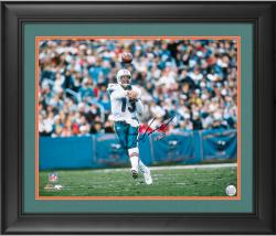 "Dan Marino Miami Dolphins Framed Autographed 16"" x 20"" Horizontal Action Photograph"