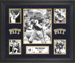 Dan Marino Pittsburgh Panthers Framed 5-Photo Collage
