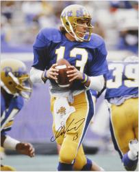 "Dan Marino Autographed University of Pittsburgh 16"" x 20"" Photo"
