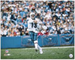 "Dan Marino Miami Dolphins Autographed 16"" x 20"" Horizontal Action Photograph"