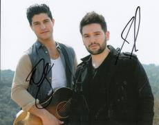 Dan + Shay signed group 8x10 photo w/coa #3 Dan Smyers and Shay Mooney 19 You Me