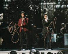 Dan + Shay signed group 8x10 photo w/coa #7 Dan Smyers and Shay Mooney 19 You Me