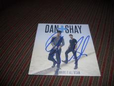 Dan & Shay Where It All Began Autographed Signed CD Book PSA Guaranteed