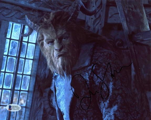 Dan Stevens Beauty and the Beast Signed 8x10 Photo BAS #D17141