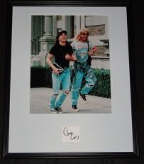 Dana Carvey Signed Framed 16x20 Photo Display Wayne's World