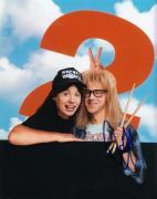 DANA CARVEY signed (WAYNE'S WORLD 2) Movie 8X10 photo W/COA *GARTH ALGAR* #2