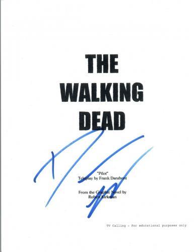 Danai Gurira Signed Autographed THE WALKING DEAD Pilot Episode Script COA