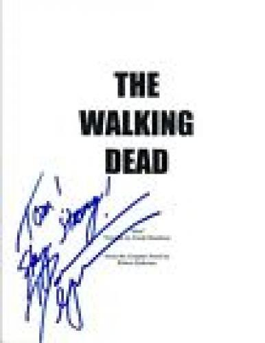 Danai Gurira Signed Autographed THE WALKING DEAD Pilot Episode Script COA VD