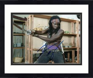 DANAI GURIRA signed (THE WALKING DEAD) TWD *Michonne* 8X10 photo W/COA #2