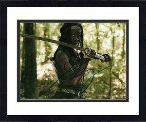 DANAI GURIRA signed (THE WALKING DEAD) TWD *Michonne* 8X10 photo W/COA #3