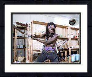 Danai Gurira The Walking Dead Signed 11X14 Photo PSA/DNA #W79794